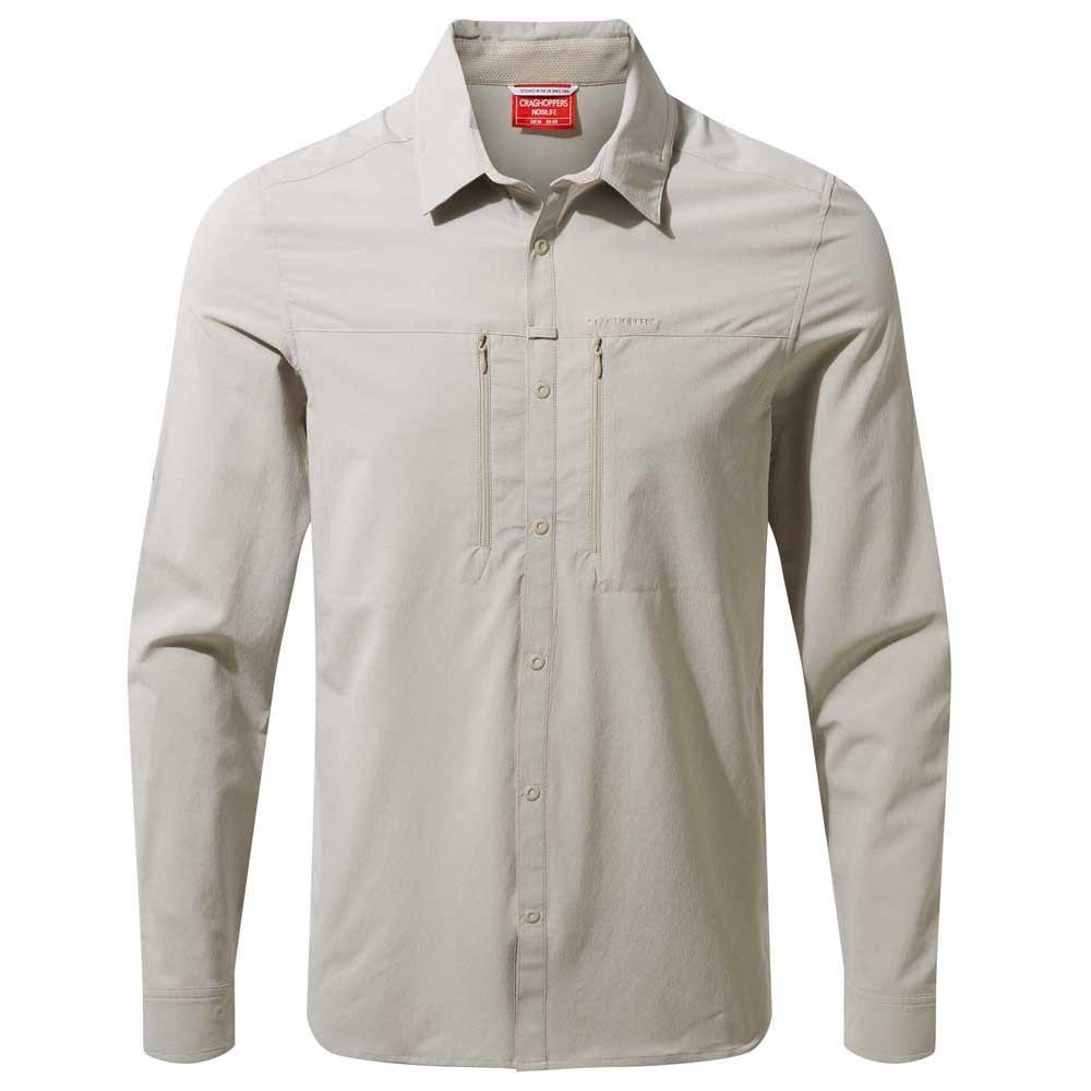 Craghoppers Mens NosiLife ProII Long Sleeve Lightweight Strech Shirt