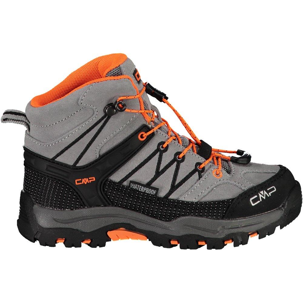 Chaussures Cmp Rigel Mid Wp EU 38 Concrete / Flash Orange