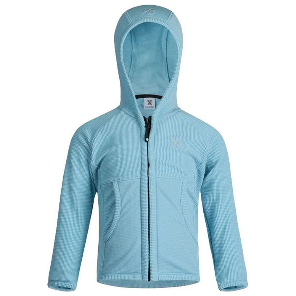 Sweatshirts Montura Stretch Hoody Baby 105 cm Ice Blue