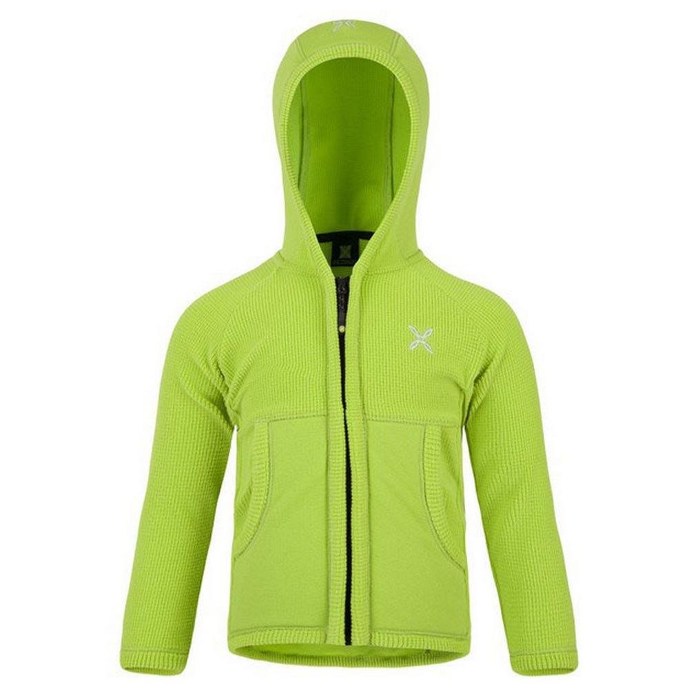 Sweatshirts Montura Stretch Hoody Baby 105 cm Acid Green