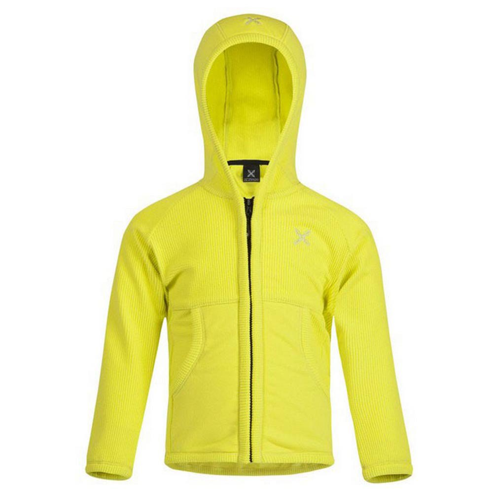 Sweatshirts Montura Stretch Hoody Baby 105 cm Yellow Zolfo