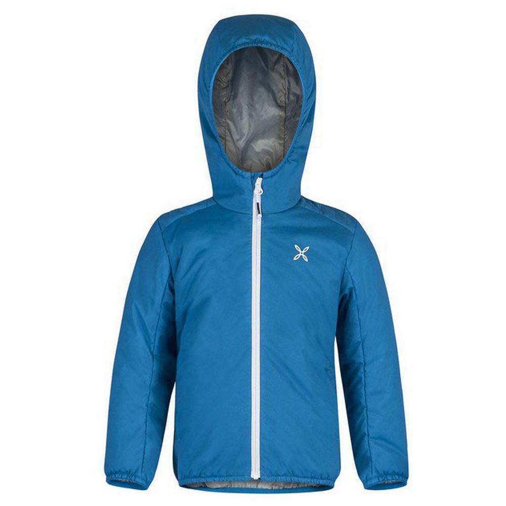 Sweatshirts Montura 4 Season Hoody Baby 105 cm Sky / White