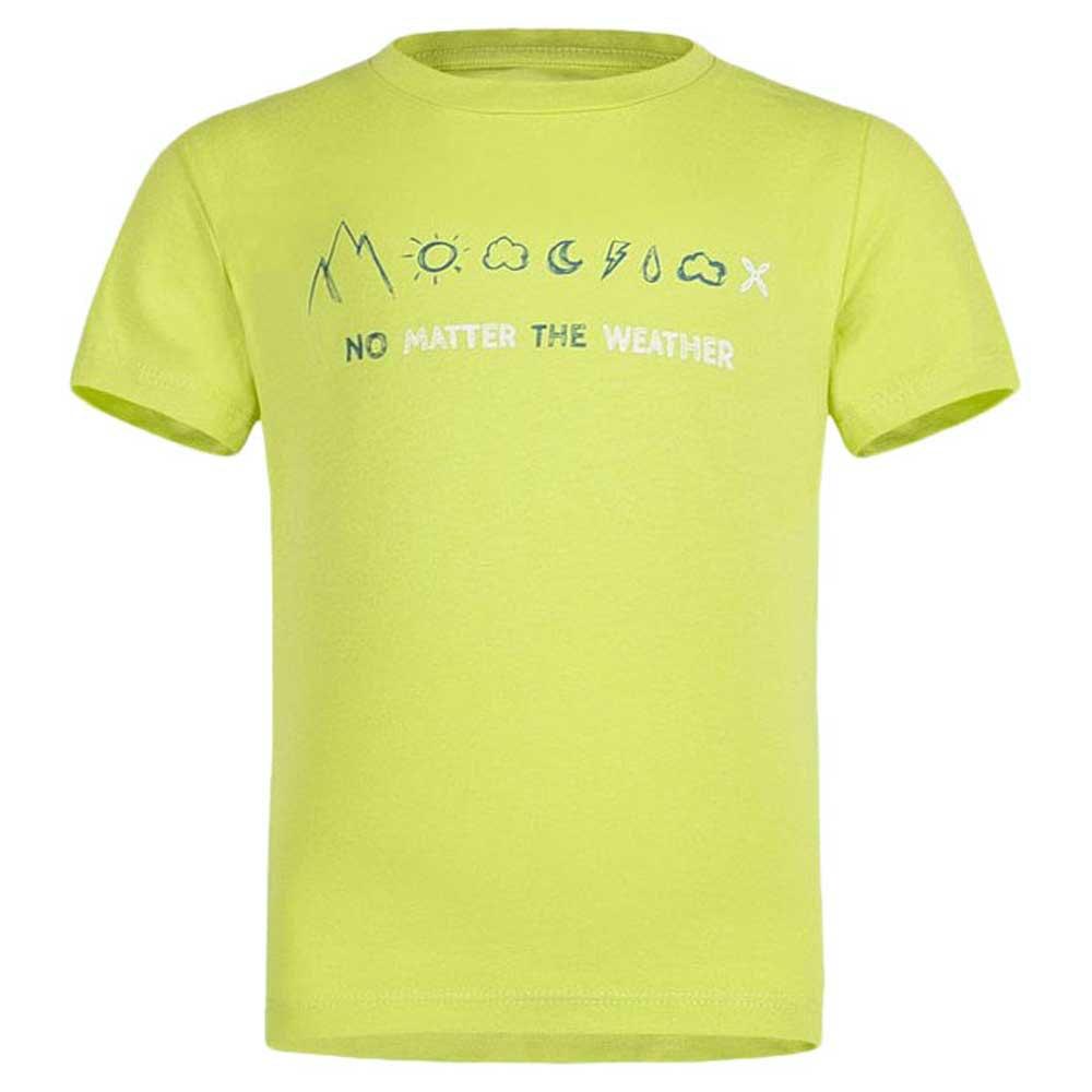 T-shirts Montura No Matter Baby 105 cm Lime Green