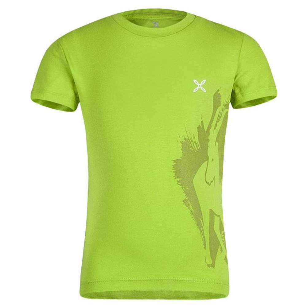 T-shirts Montura Wild Baby 105 cm Acid Green / White