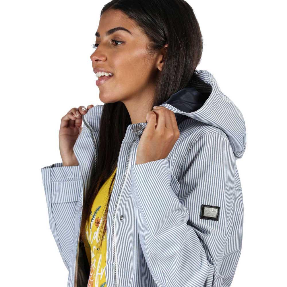 Regatta Womens Ninette Lined Hooded With Internal Security Pocket Jackets Waterproof Shell
