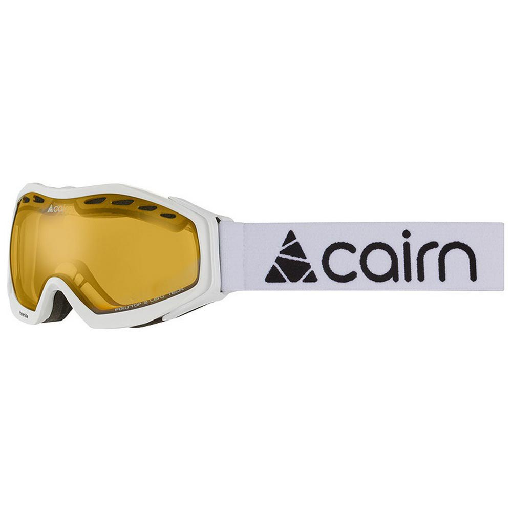 Masques de ski Cairn Freeride Spx2 Yellow/CAT2 Shiny White