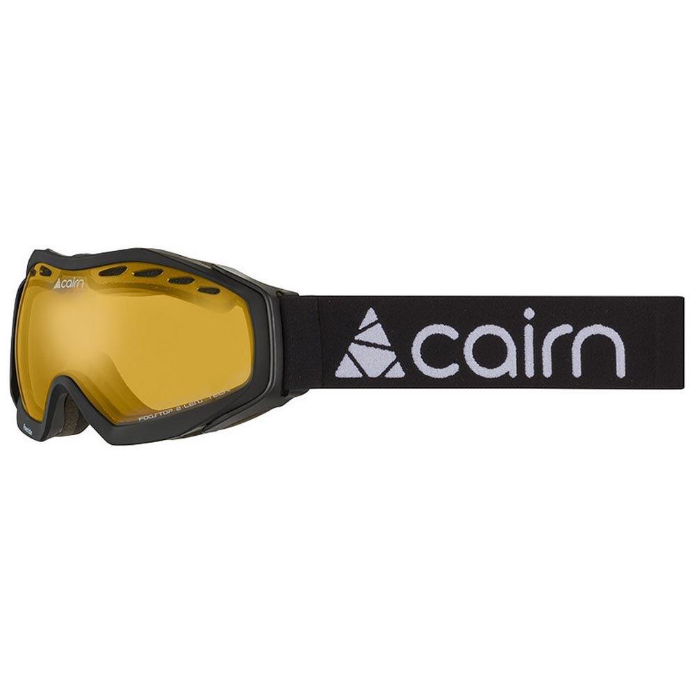 Masques de ski Cairn Freeride Spx2 Yellow/CAT2 Matt Black
