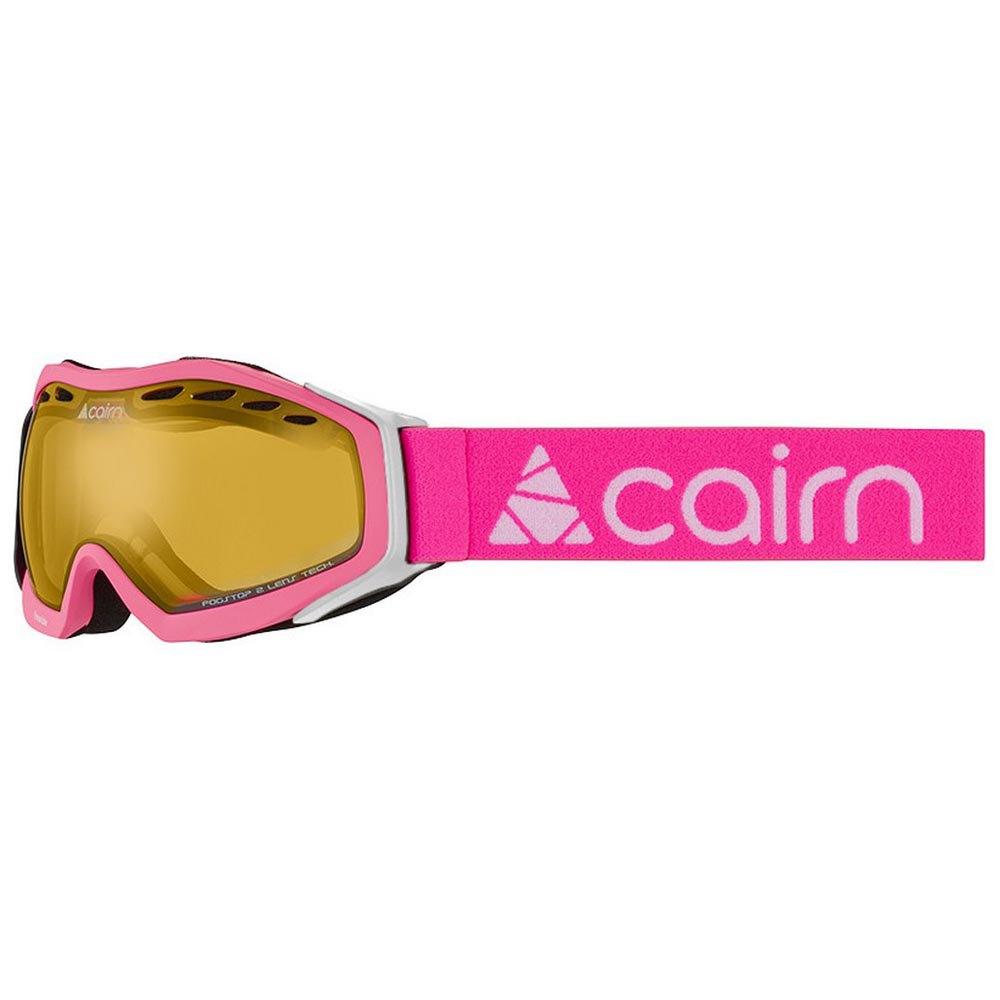 Masques de ski Cairn Freeride Spx2 Silver/CAT2 Neon Pink