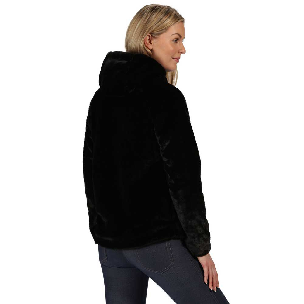 Regatta Womens Haddie Lined Hooded With Fleece With Side Pockets