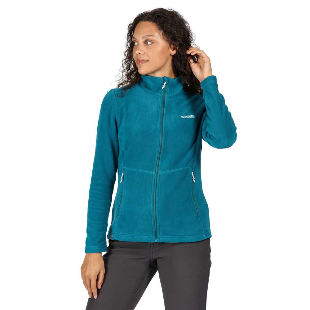 Regatta Womens Floreo Iii Full Zip Fleece With Zipped Pockets Fleece