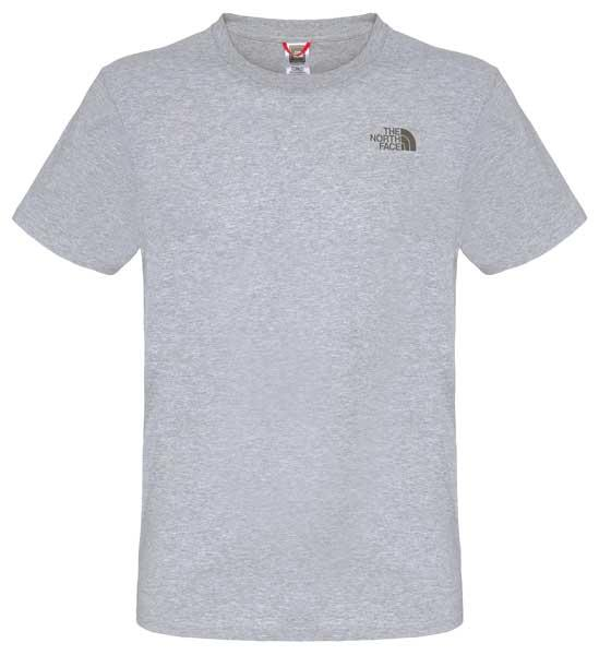 THE NORTH FACE Mens Simple Dome Short Sleeve Tee