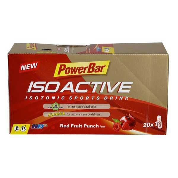 Powerbar Isoactive Sachet Red Fruits Caja 20