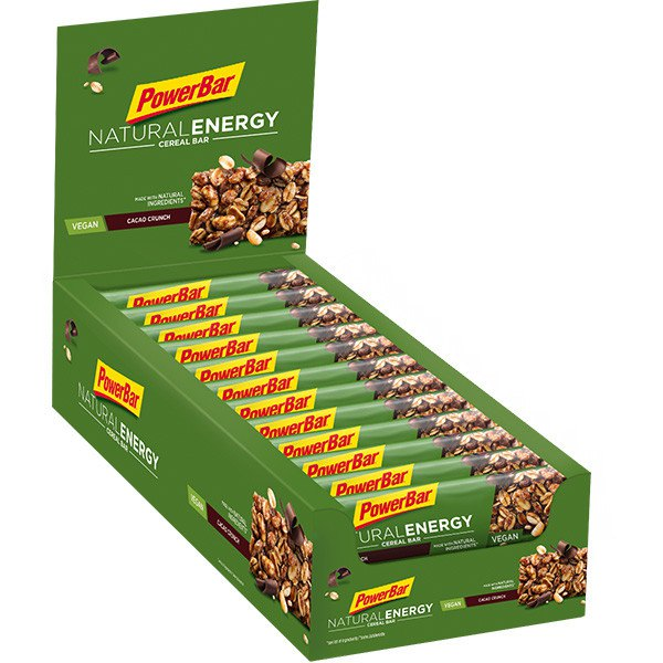Powerbar Natural Energy Cacao Crunch Caja 960gr 24 Unidades