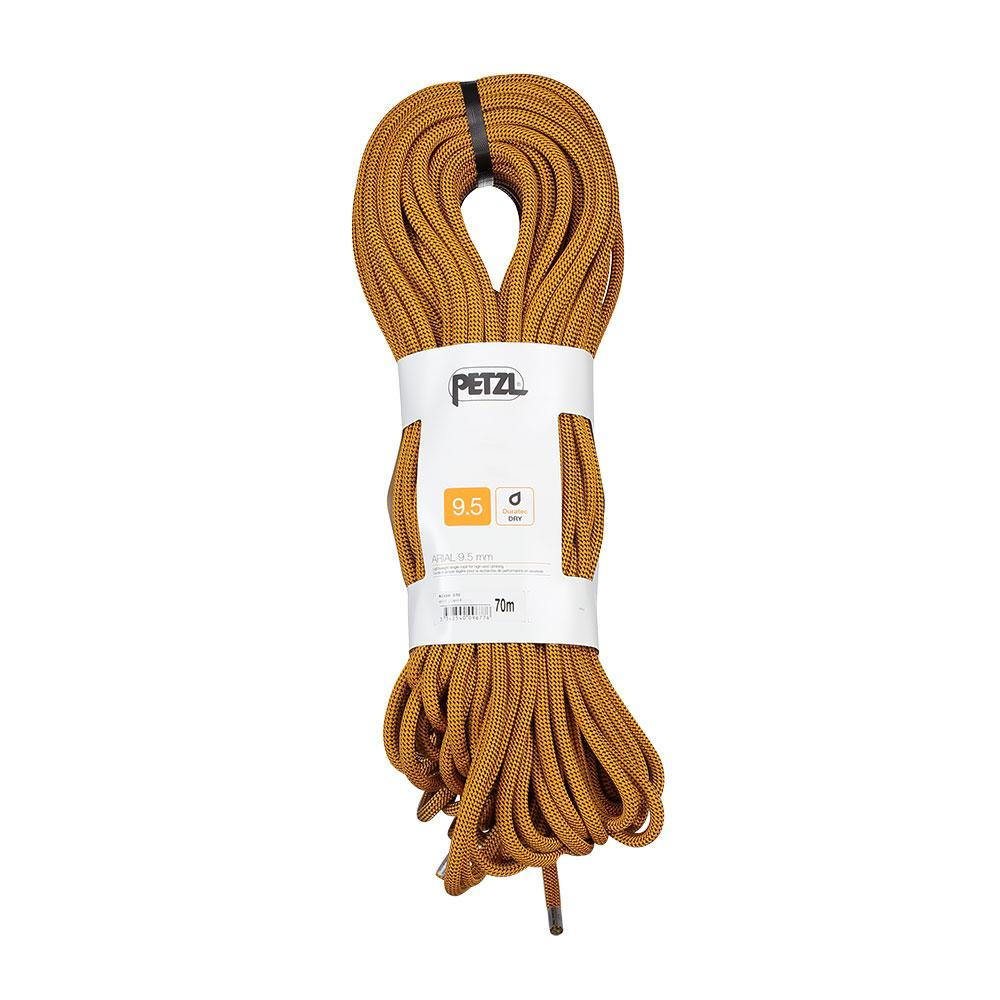 Cordes et sangles Petzl Arial 9.5 Mm 80 m Black
