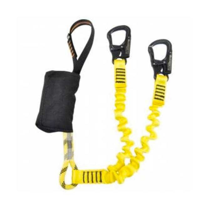 Kong K.K.E Set Via Ferrata & Ferrata Elastic With Tango Carabiner