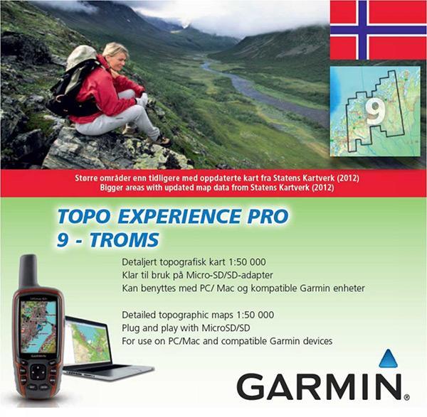 topo pro kart Garmin Topo Experience   Troms PRO buy and offers on Trekkinn topo pro kart