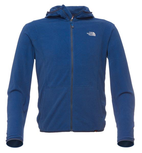 5ce771a47 The north face Kaolin Full Zip Hoodie Polartec Thermal Pro Nautical ...