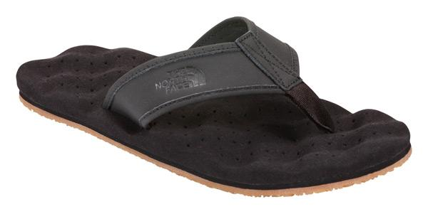 6f75a81048e4 The north face Base Camp Leather Flip-Flop TNF Black
