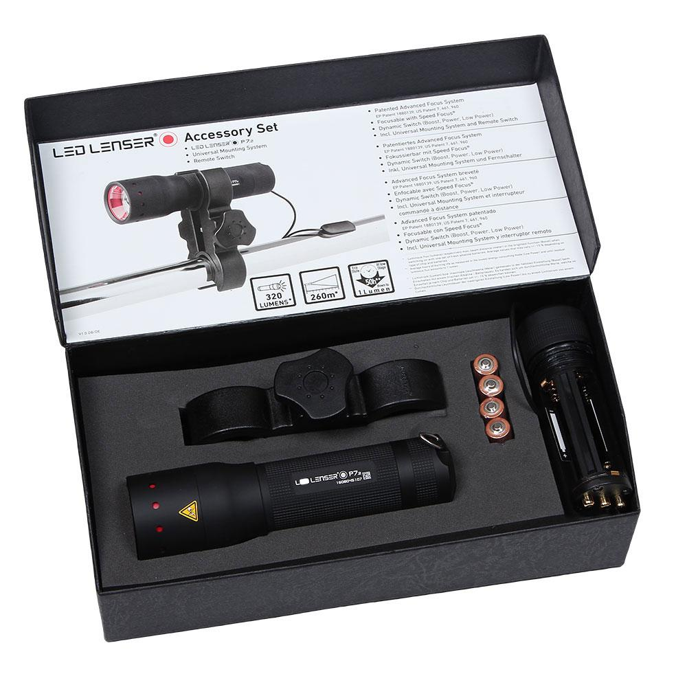 Led lenser P7 Kit de Arma