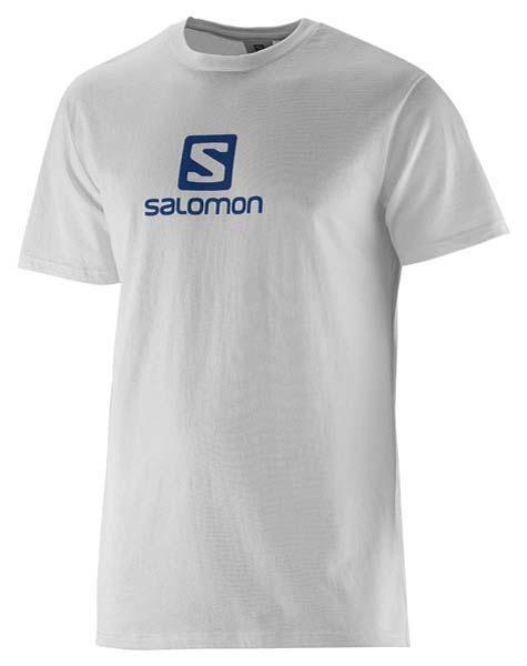 Salomon T Shirt Cotton Tee weiß
