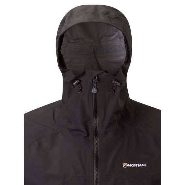 Black Montane Men/'s Further Faster Neo Waterproof Jacket