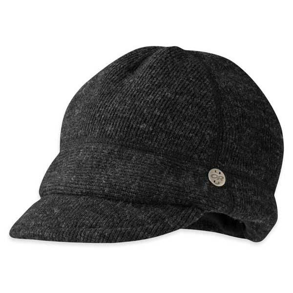 Outdoor research Flurry Cap Black buy and offers on Trekkinn 6c33e86072b