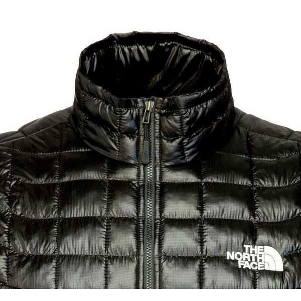 North face men's thermoball full zip jacket black