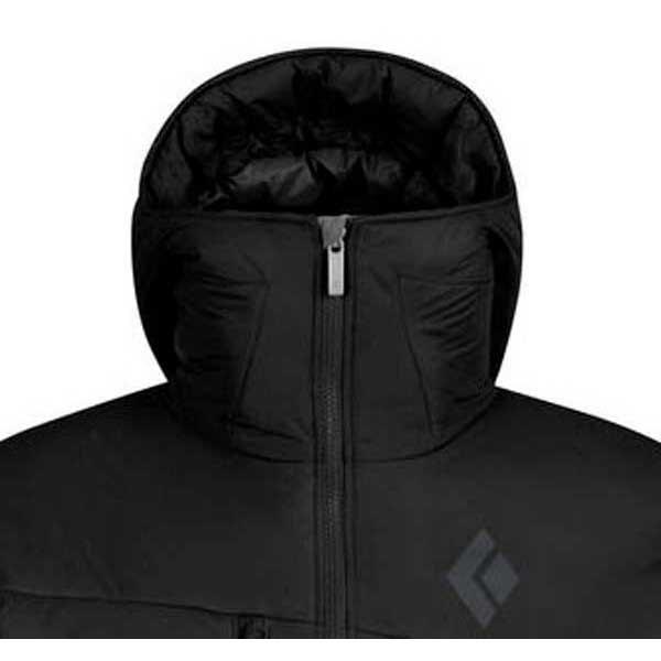 Black diamond stance insulated belay jacket