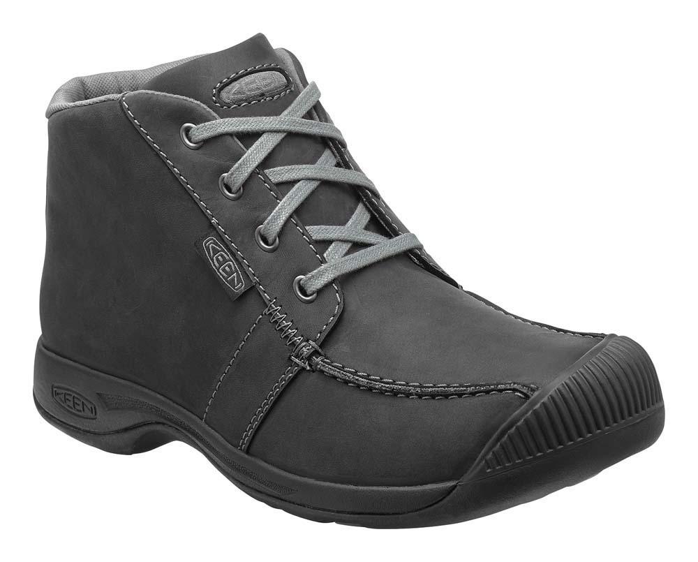 Keen Mens Black Boots Reisen Chukka