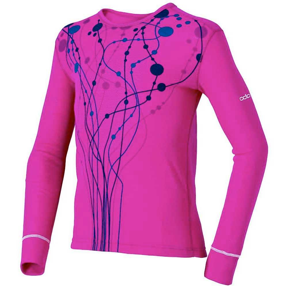 Odlo Shirt Kids warm pink