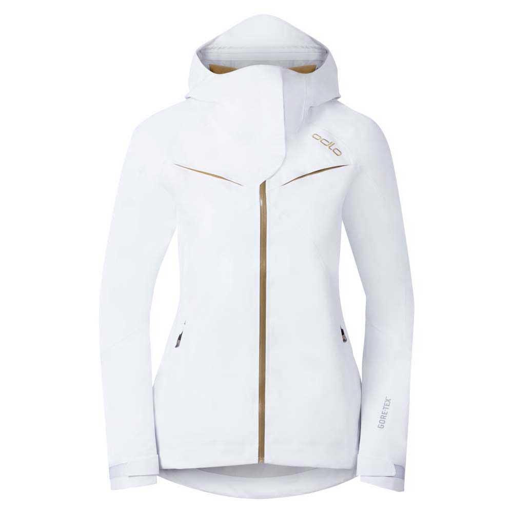new concept 32cad 1bfe2 Odlo Jacket Hardshell 3L Goretex Spirit Bianco, Trekkinn