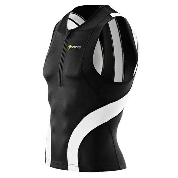 Skins TRI 400 Top Sleeveless With Zip