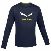 Salewa Solidlogo Co L/S Tee