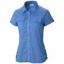 Columbia Camp Henry Solid S/S Shirt Harbor