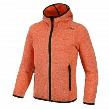 Cmp Fleece Jacket Fix Hood Girls