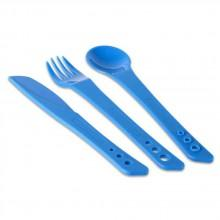 Lifeventure Ellipse Knife. Fork & Spoon Set