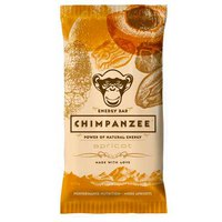 Chimpanzee Energy Bar Apricot 55gr Box 20 Units