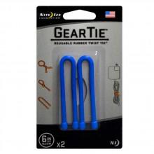 Nite ize Gear Tie 6 Inch Pack 2 Units