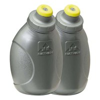 Nathan Push Pull Cap Flask 2 Pack