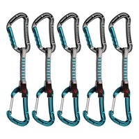 Mammut 5er Pack Bionic Express Sets Straight Gate/Wire Gate 10 cm