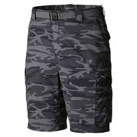 Columbia Silver Ridge Printed Cargo Shorts 12 Inch