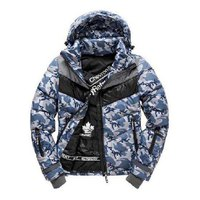 Superdry Retro Chevron Hooded Puffer
