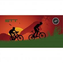 Stt sport Crazy Towel Mountain Bike Sunset Compact