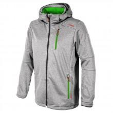 Cmp Comfort Fit Softshell Zip Hood
