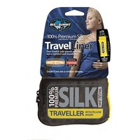Sea to summit Silk Stretch Liner Traveller With Pillow Slip