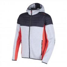 Cmp Fix Hood Hybrid Jacket Knitted