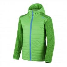 Cmp Boy Fix Hood Hybrid Jacket Knitted