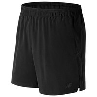 New balance Woven 2 In 1 Short 7 Inch