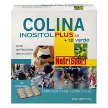 Nutrisport Colina Inositol Plus ygreen Tea 120 Unidades