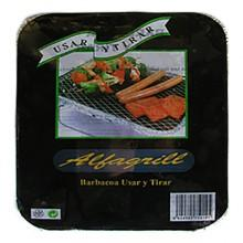 Alfagrill Use And Throw Barbecue